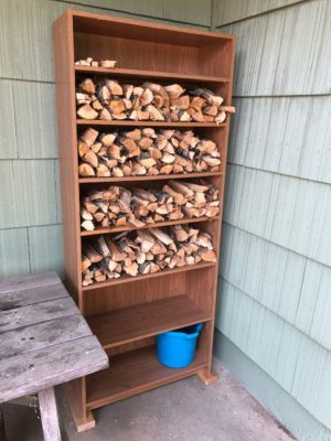 stacked-wood-for-chiminea-fire-pit