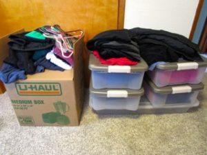Summer/Winter clothes storage